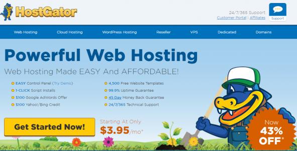 hostgator hosting deals