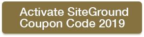 siteground coupon code 2019