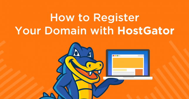 How to register a domain with Hostgator