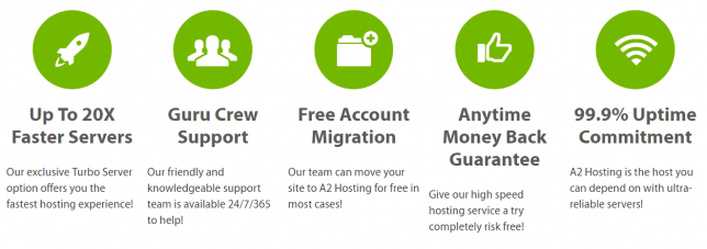 a2 hosting lite web hosting review