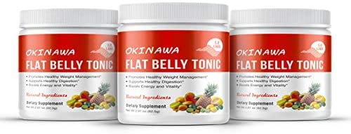 What are the ingredients in the Okinawa Flat Belly Tonic