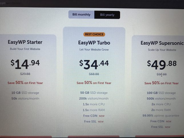 easywp starter review
